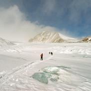 Gita sul ghiacciaio Potanin