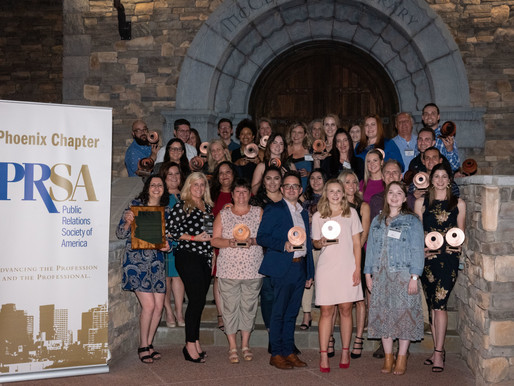 PRSA Phoenix Chapter Honors Public Relations Professionals at Annual Copper Anvil Awards
