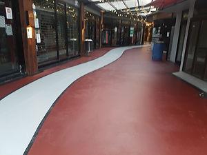paihia mall floor painting