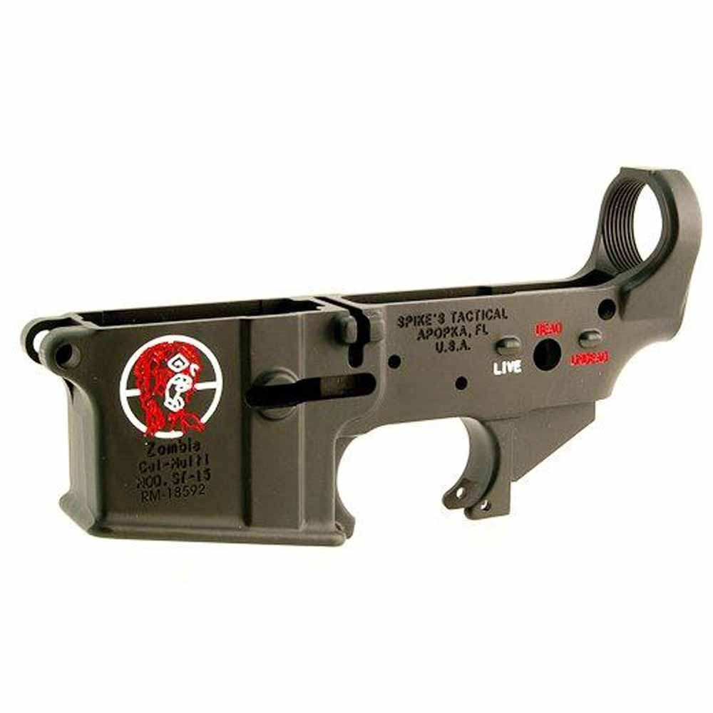 Spike 39 s tactical zombie stripped lower hopkins hunt fish for 13 fishing a3