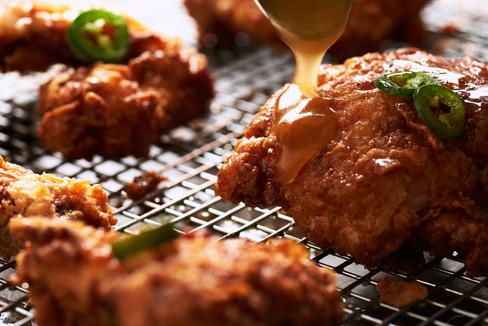 Hot Honey Butter Fried Chicken