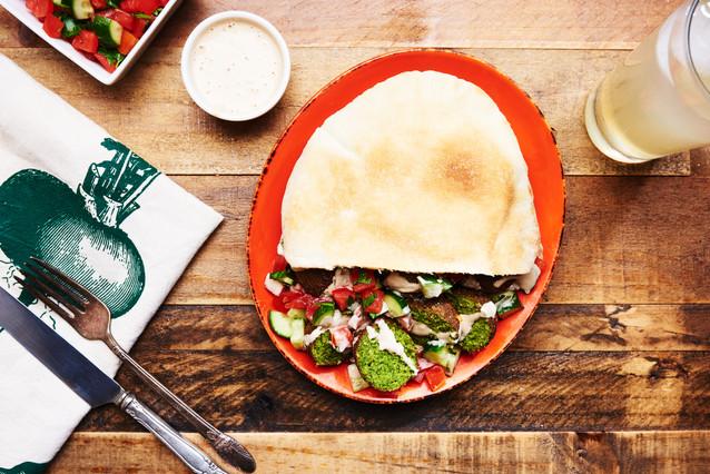 Falafel with Lemon Tahini Dressing
