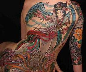 Японский стиль в тату