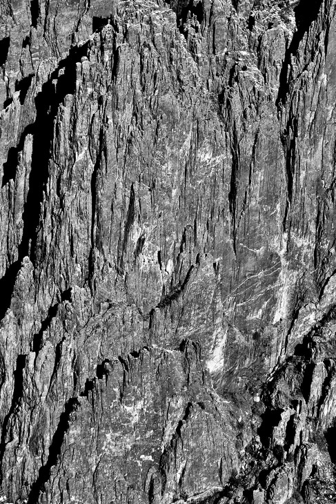 Black Canyon of the Gunnison Detail