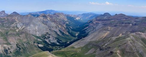 Uncompaghre Peak Box Canyon