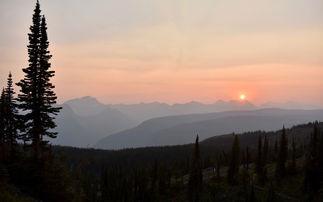 Granite Park Haze Sunset