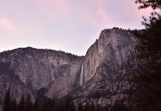 Yosemite Falls Sunset Whisps