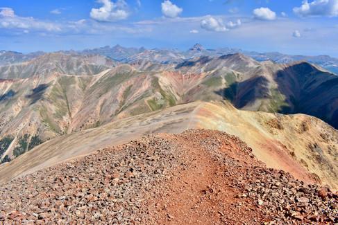 San Juans and Sangre de Cristo Range, Colorado
