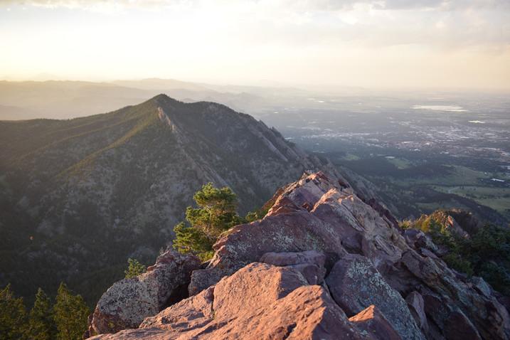 Bear Peak Sunset Spine