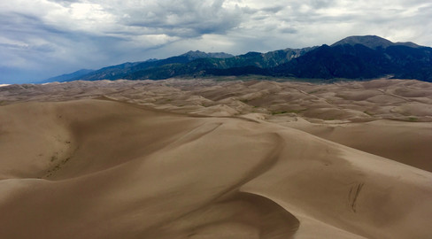 Great Sand Dunes Storm Incoming