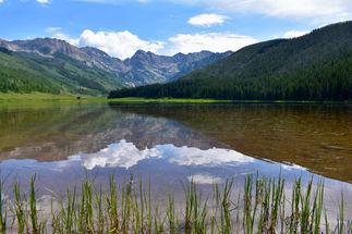 Summer Piney Lake (Gore Range)