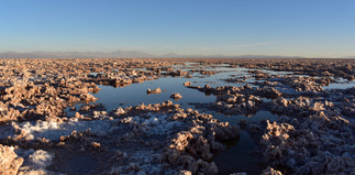 Salt Topography at Laguna Chaxa