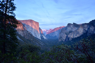 Tunnel View Alpenglow