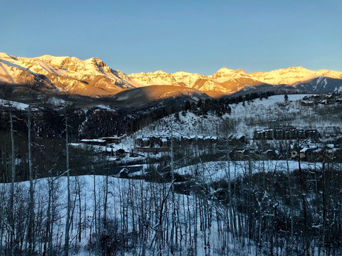 Alpenglow on Dallas Divide