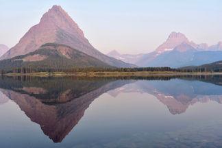 Swiftcurrent Lake Sunrise #2
