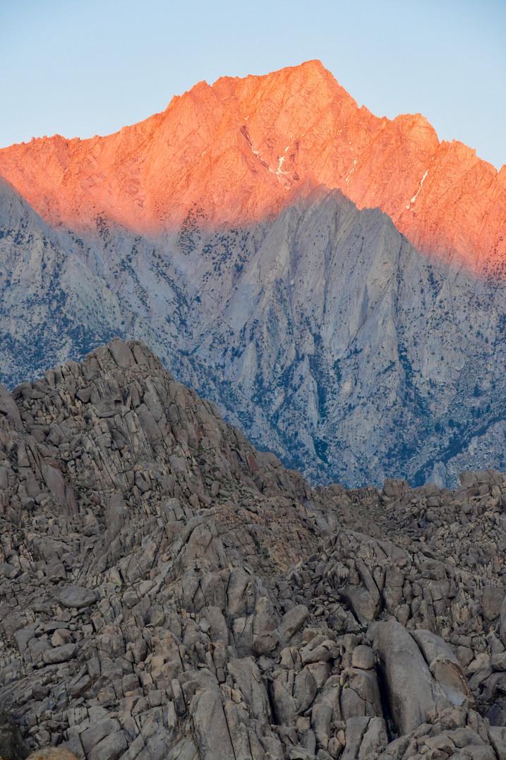 Lone Pine Peak glow