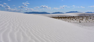 White Sands Peaks and Valleys