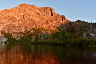 Round Lake Alpenglow #1