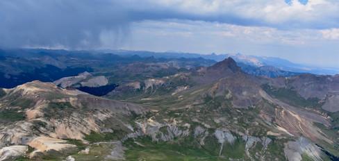 Uncompaghre Peak towards Wetterhorn Peak