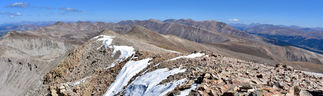 Mt. Sherman Summit Panorama