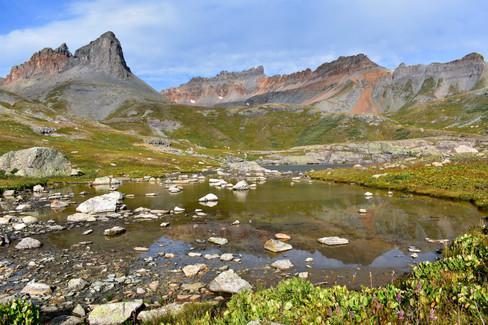 Ice Lakes Basin Tarn Reflection