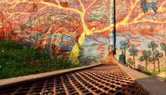 Golden Wall Art