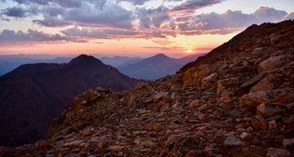 Mt. Evans Summit Sunset