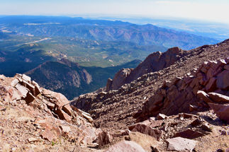 Pikes Peak Prominence Dive
