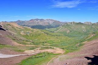 West Maroon Pass towards Fravert Basin