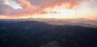 Bear Peak Stormy Sunset