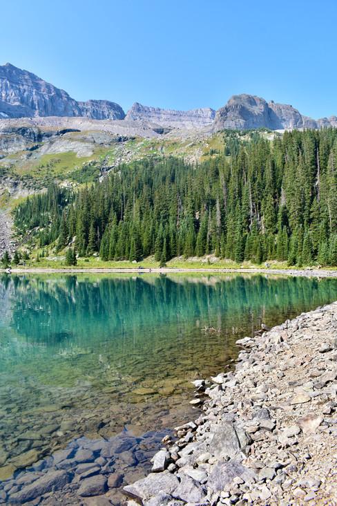 Blue Lakes Basin Turqouise Magic