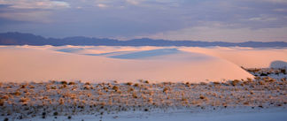 White Sands Alpenglow