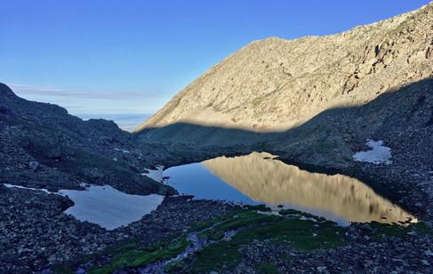 Alpenglow Blanca Massif Reflection