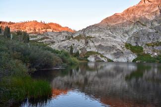 Round Lake Shore Sunset