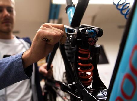 Winterlicher Fahrradservice         bei RaDL Sport