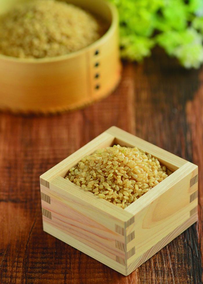 菜ッキーの還元力を強くするこだわり玄米