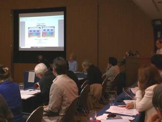 国際伝統・新興医療融合協会で唾液ORP測定の講演と実演