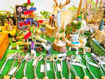 2017年12月 手作り木製アクセサリー『木っこ凛』クリスマス展示・販売会のお知らせ