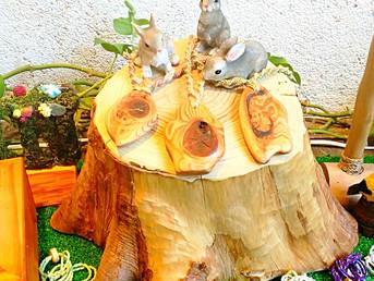 第5回 『木っこ凛』展示販売会を開催中