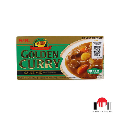 TCC243N - Golden Curry Chukara 220g - S&B