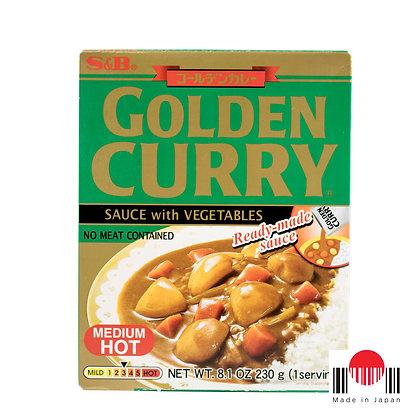 TCC303 - Golden Curry Instantâneo Chukara 230g - S&B