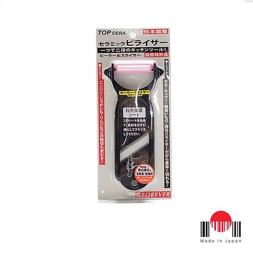 1CU107 - Descascador/Fatiador legumes Peelicer Plastico/Cerâmica Forever