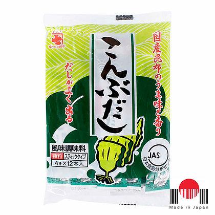 TBD079 - Konbu Dashi 12P x 4g (48g) - Kaneshichi