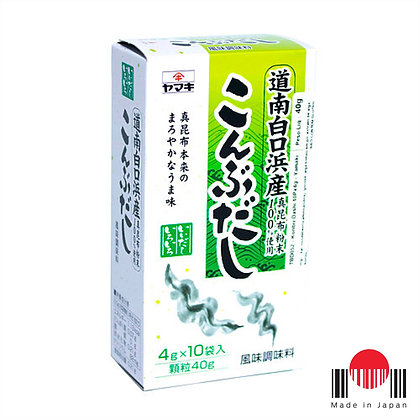 TBD052 - Konbu Dashi 10P x 4g (40g) - Yamaki