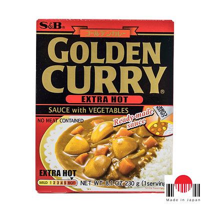 TCC306 - Golden Curry Instantâneo Ookara 230g - S&B