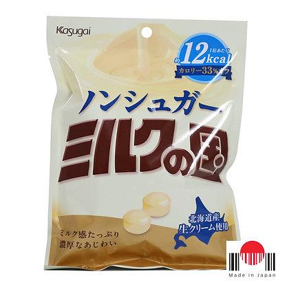 BBK231B - Bala Milk no Kuni -33% Calorias 76g - Kasugai