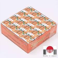 BDG101 - Caixa de Chicletes Sabor Laranja 48 unidades (259,2g) - Marukawa