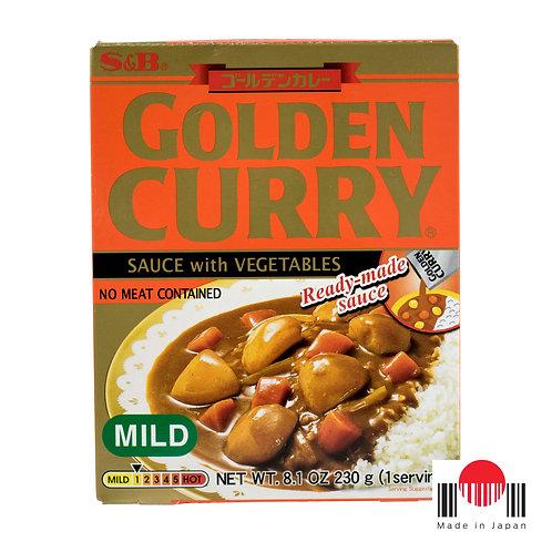 TCC302 - Golden Curry Instantâneo Amakuchi 230g - S&B