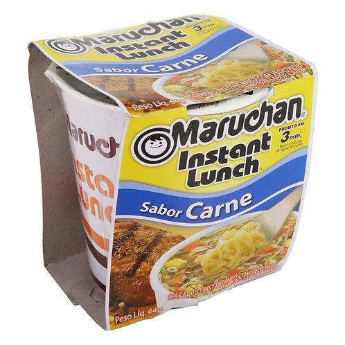 MTL307 - Macarrão Instantâneo Cup Sabor Carne 64g - Maruchan