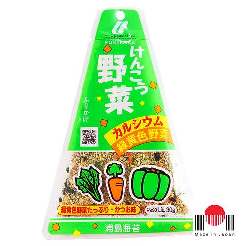 TAF506 - Furikake Triângulo Kenko Yasai 30g - Urashima